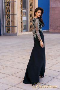 Вечернее платье NF-19035. Цвет чёрный. Вид 2
