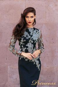 Вечернее платье NF-19035. Цвет чёрный. Вид 3