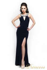 Вечернее платье 191. Цвет чёрный. Вид 1