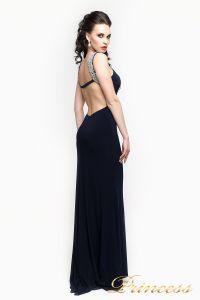Вечернее платье 191. Цвет чёрный. Вид 3
