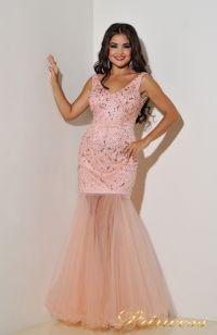 Вечернее платье 96139LP. Цвет розовый. Вид 4