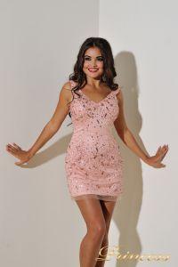 Вечернее платье 96139LP. Цвет розовый. Вид 5