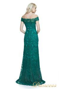 Вечернее платье Tadashi Shoji ALX17021L DEEPEMERALD. Цвет зеленый. Вид 2