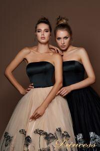 Вечернее платье 9060. Цвет чёрный. Вид 3