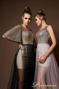 Вечерние платья 9062. Цвет бронзовый. Вид 3