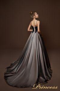 Вечернее платье 9067. Цвет чёрный. Вид 2