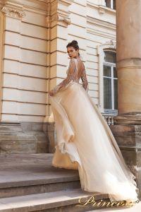 Вечернее платье 15088. Цвет розовый. Вид 2