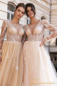 Вечернее платье 15088. Цвет розовый. Вид 3