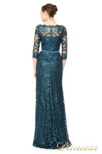 Вечернее платье Tadashi Shoji ALT1224LS. Цвет синий. Вид 3