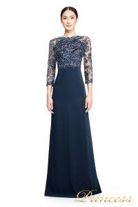 Вечернее платье Tadashi Shoji ART2132LX. Цвет синий. Вид 1