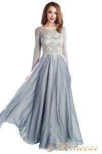 Вечернее платье 20245-171 gray. Цвет стальной. Вид 2