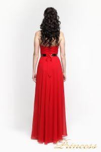 Вечернее платье 2088R. Цвет красный. Вид 3