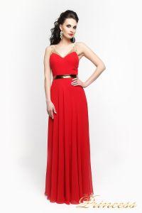 Вечернее платье 2088R. Цвет красный. Вид 2