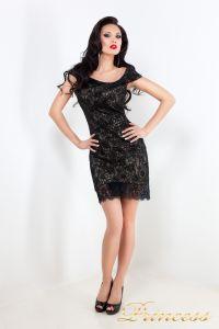 Коктейльное платье 212046. Цвет чёрный. Вид 2
