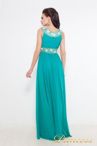 Вечернее платье 213127 G. Цвет зеленый. Вид 3