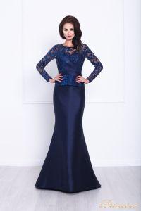 Вечернее платье 215012. Цвет синий. Вид 1