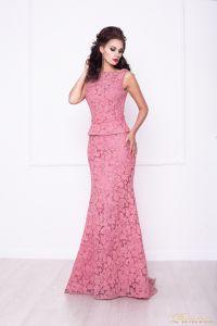 Вечернее платье 216015. Цвет розовый. Вид 1