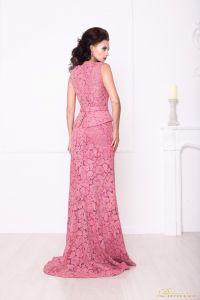 Вечернее платье 216015. Цвет розовый. Вид 2