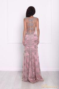 Вечернее платье 216021. Цвет розовый. Вид 2