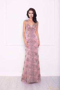 Вечернее платье 216021. Цвет розовый. Вид 3