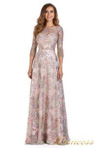 Вечернее платье 216028 light pink. Цвет цветочное. Вид 2