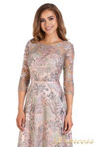 Вечернее платье 216028 light pink. Цвет цветочное. Вид 5