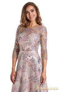 Вечернее платье 216028 light pink. Цвет цветочное. Вид 6
