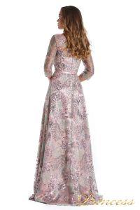 Вечернее платье 216028 light pink. Цвет цветочное. Вид 3