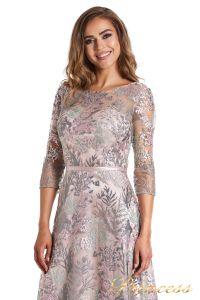 Вечернее платье 216028 light pink. Цвет цветочное. Вид 1