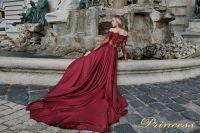 Вечернее платье 29231 P. Цвет розовый. Вид 2