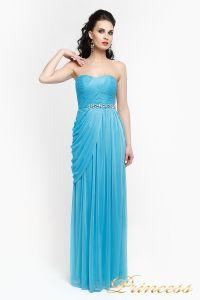 Вечернее платье 222. Цвет голубой. Вид 2