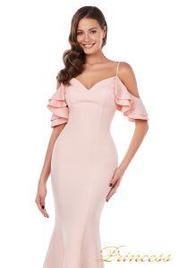 Вечернее платье 227486 P. Цвет розовый. Вид 1