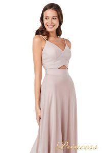 Вечернее платье 227503 ds. Цвет розовый. Вид 2