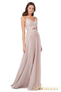 Вечернее платье 227503 ds. Цвет розовый. Вид 3