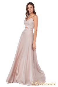 Вечернее платье 227503 ds. Цвет розовый. Вид 5