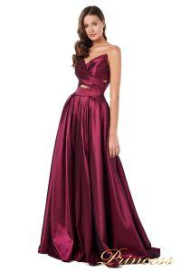 Вечернее платье 227511 M. Цвет marsala. Вид 3