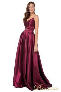 Вечернее платье 227511 M. Цвет marsala. Вид 2