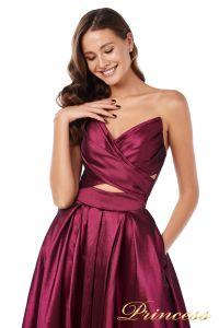 Вечернее платье 227511 M. Цвет marsala. Вид 1