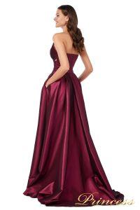 Вечернее платье 227511 M. Цвет marsala. Вид 4