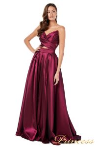 Вечернее платье 227511 M. Цвет marsala. Вид 5