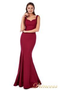 Вечернее платье 227543 red. Цвет wine. Вид 1