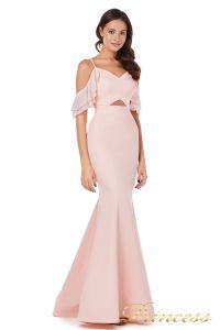 Вечернее платье 227586 pink. Цвет пастель. Вид 1