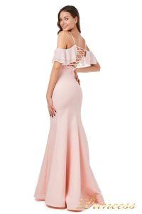 Вечернее платье 227586 pink. Цвет пастель. Вид 2