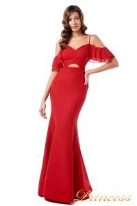 Вечернее платье 227586. Цвет красный. Вид 2