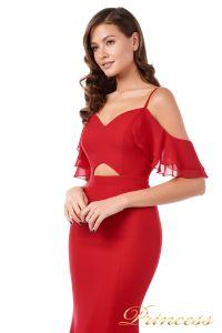 Вечернее платье 227586. Цвет красный. Вид 3