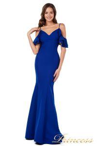 Вечернее платье 227586 royal. Цвет синий. Вид 2