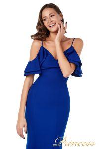 Вечернее платье 227586 royal. Цвет синий. Вид 3