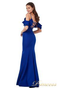 Вечернее платье 227586 royal. Цвет синий. Вид 4