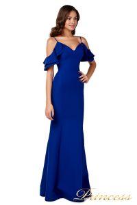 Вечернее платье 227586 royal. Цвет синий. Вид 5