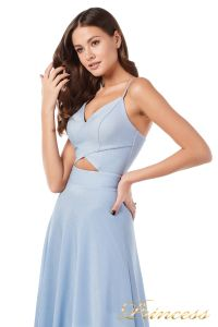 Вечернее платье 227503 b. Цвет голубой. Вид 5